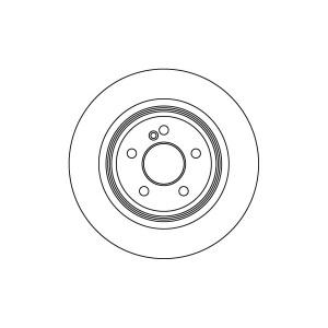 2 BREMSSCHEIBEN 315mm +BELÄGE HINTEN MERCEDES S-KLASSE W220 C215 S CL 55 AMG 600 Pic:1