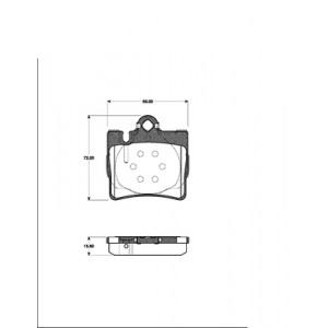 2 BREMSSCHEIBEN 315mm +BELÄGE HINTEN MERCEDES S-KLASSE W220 C215 S CL 55 AMG 600 Pic:2