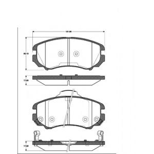 2 BREMSSCHEIBEN 280mm belüftet + BELÄGE VORNE HYUNDAI COUPE TUCSON KIA SPORTAGE Pic:2