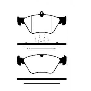 BREMSSCHEIBEN Ø286mm + BREMSBELÄGE VORNE OPEL OMEGA B + CARAVAN BREMSEN Pic:2