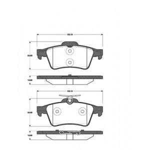 2 BREMSSCHEIBEN 278x12mm + BREMSBELÄGE HINTEN OPEL VECTRA C SIGNUM Pic:2