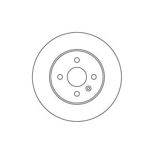 BREMSSCHEIBEN 264mm + BREMSBELÄGE HINTEN OPEL ASTRA H COMBO MERIVA 4-LOCH Pic:1