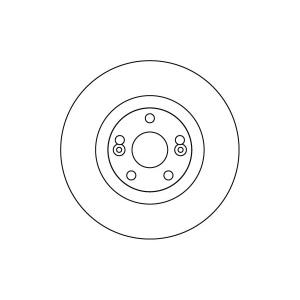 BREMSSCHEIBEN 305mm + BELÄGE VORNE RENAULT ESPACE 3 III nur 3.0 V6 24V + 2.2 dCi Pic:1