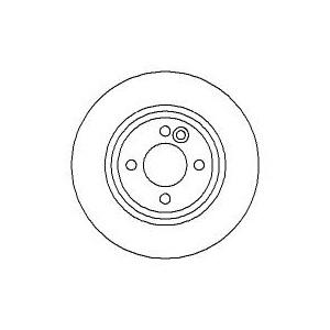 BREMSSCHEIBEN 276mm belüftet + BREMSBELÄGE VORNE MINI (R50 R52 R53) BREMSEN Pic:1