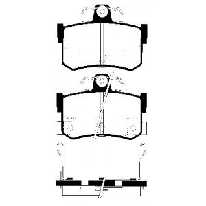 2 BREMSSCHEIBEN 240mm + BREMSBELÄGE HINTEN MG MGF (RD) + MG TF 1995-2009 Pic:2