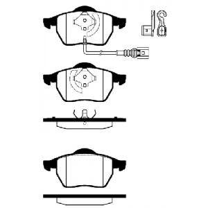 BREMSSCHEIBEN 312mm + BELÄGE VORNE AUDI S3 TT GOLF 4 JUBI GTI V5 V6 170PS-210PS Pic:2