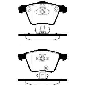 2 BREMSSCHEIBEN 336mm + BELÄGE VORNE VOLVO XC 90 17 ZOLL 2002-2012 Pic:2