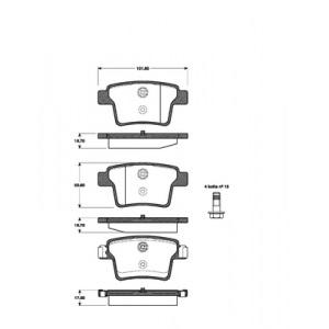 bset vorne hinten ford mondeo iii 09 04 08 2007. Black Bedroom Furniture Sets. Home Design Ideas