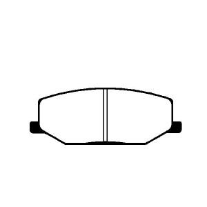 1 SATZ BREMSBELÄGE VORNE SUZUKI JIMNY  SAMURAI  SJ 410/413 + SUPER CARRY Pic:1