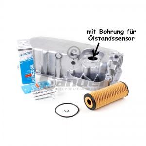 ALU ÖLWANNE für ÖLSTANDSENSOR ÖLFILTER AUDI A3 VW GOLF IV SEAT SKODA 1.9 TDI