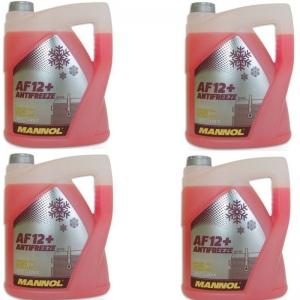[1,70€/L] 20 Liter Antifreeze AF12+ Kühler Frostschutz bis -40°C für G12+/ plus