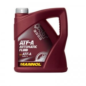 [3,50€/L] 4L GETRIEBEÖL ATF SUFFIX A / TYPE A GM, MB236.2 MANNOL