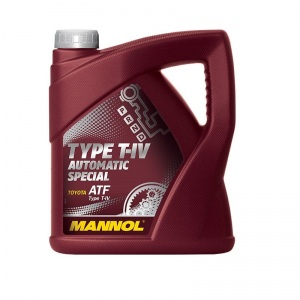 [5,37€/L] 4 Liter Mannol ATF Type T-IV Automatik Getriebeöl für Toyota ATF