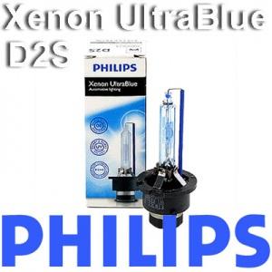 1 x PHILIPS D2s Xenon HID UltraBlue 6000K ULTRA BLUE BRENNER PORSCHE Pic:1