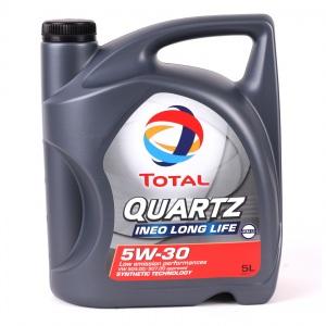 [6,19€/L] 5 Liter TOTAL 5W-30 Ineo LongLife Motoröl 5W30 VW 504/507 BMW LL04 MB