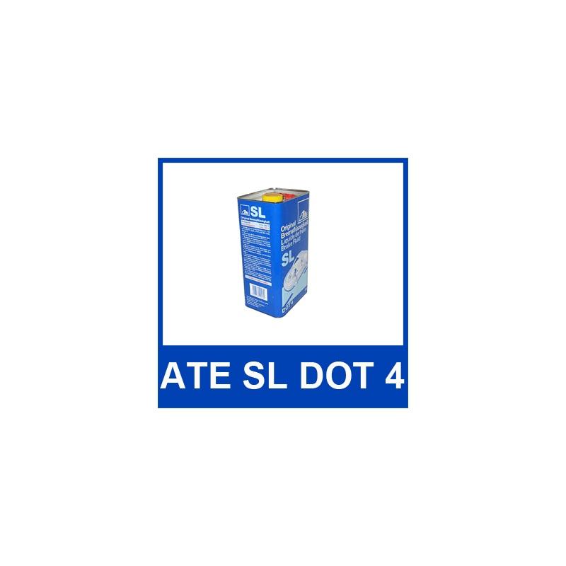 [4,78€/L] 5 Liter original ATE SL DOT 4 BREMSFLÜSSIGKEIT 5000 ml DOT4