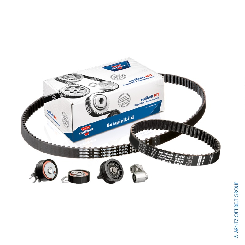 OPTIBELT ZAHNRIEMENSATZ mit WASSERPUMPE VW GOLF 3 VENTO POLO 6KV_  CADDY 1.6