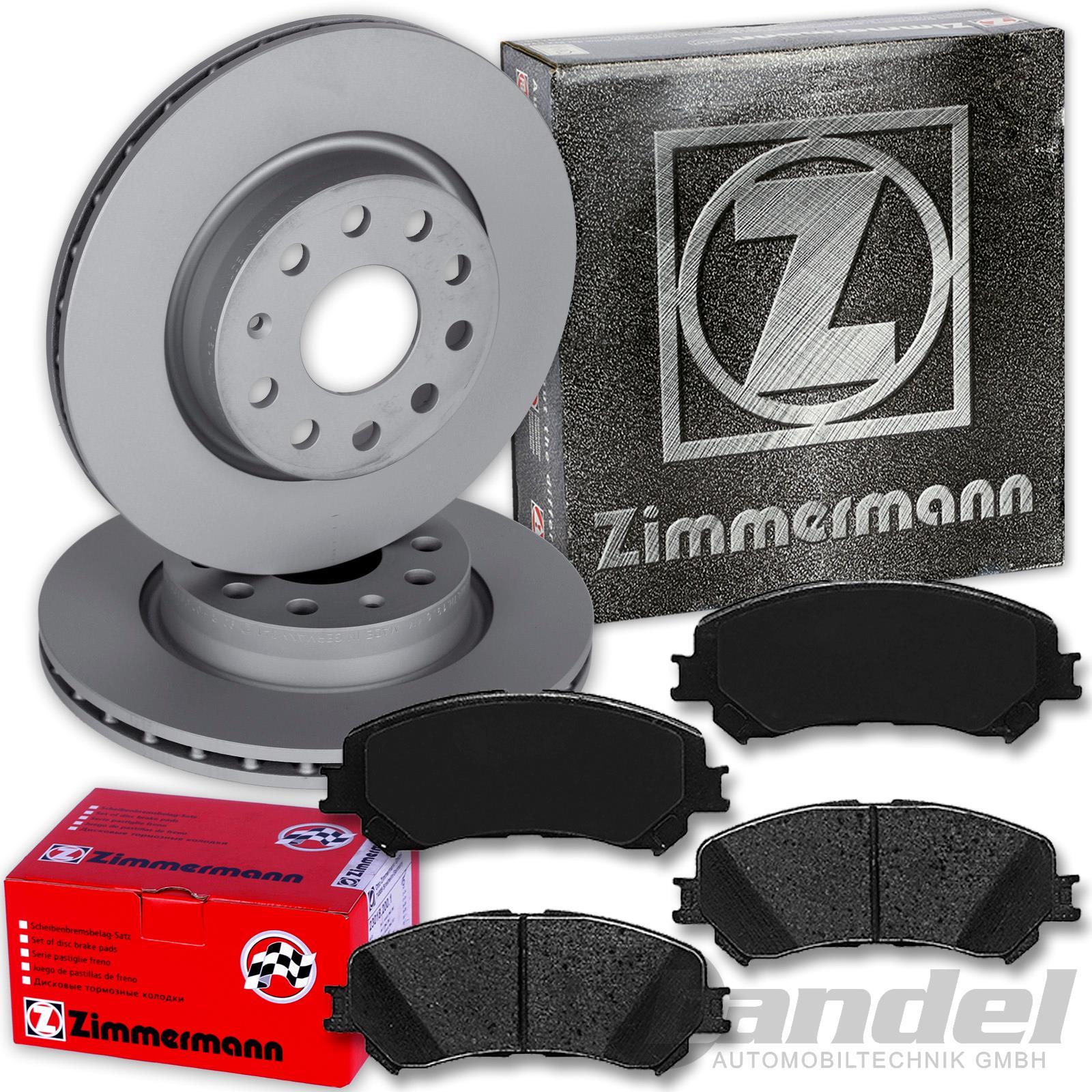 ZIMMERMANN Bremsbeläge Bremsklötze für RENAULT CLIO 3 MEGANE 2 SCENIC 2 vorne