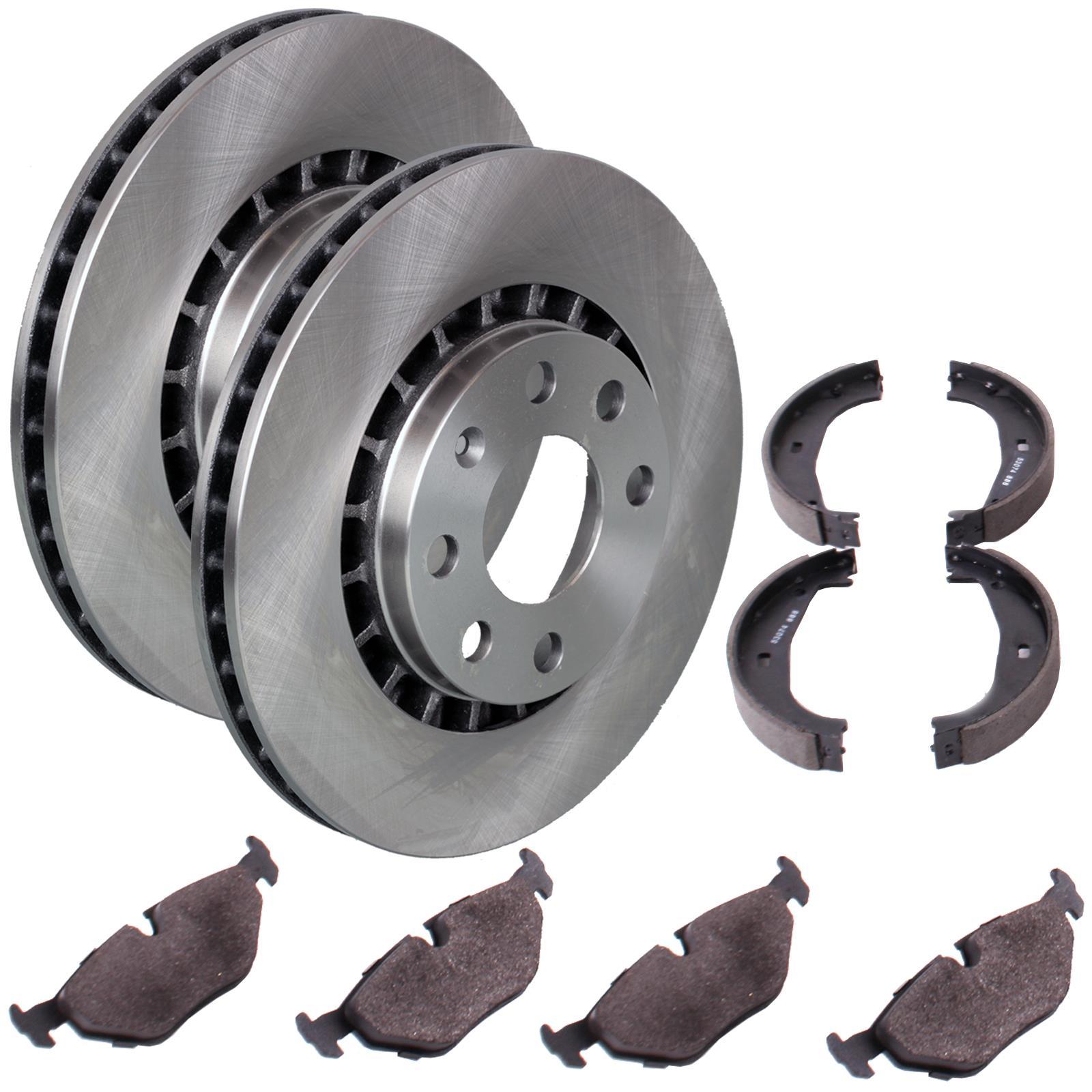 Bremsscheiben 231mm belüftet Bremsbeläge vorne für Bremssystem Bosch