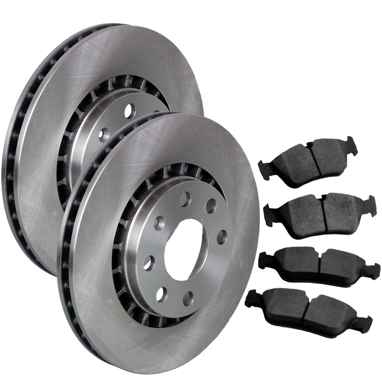Bremsscheiben Bremsen Bremsbel/äge vorne Bremsbacken Set f/ür hinten