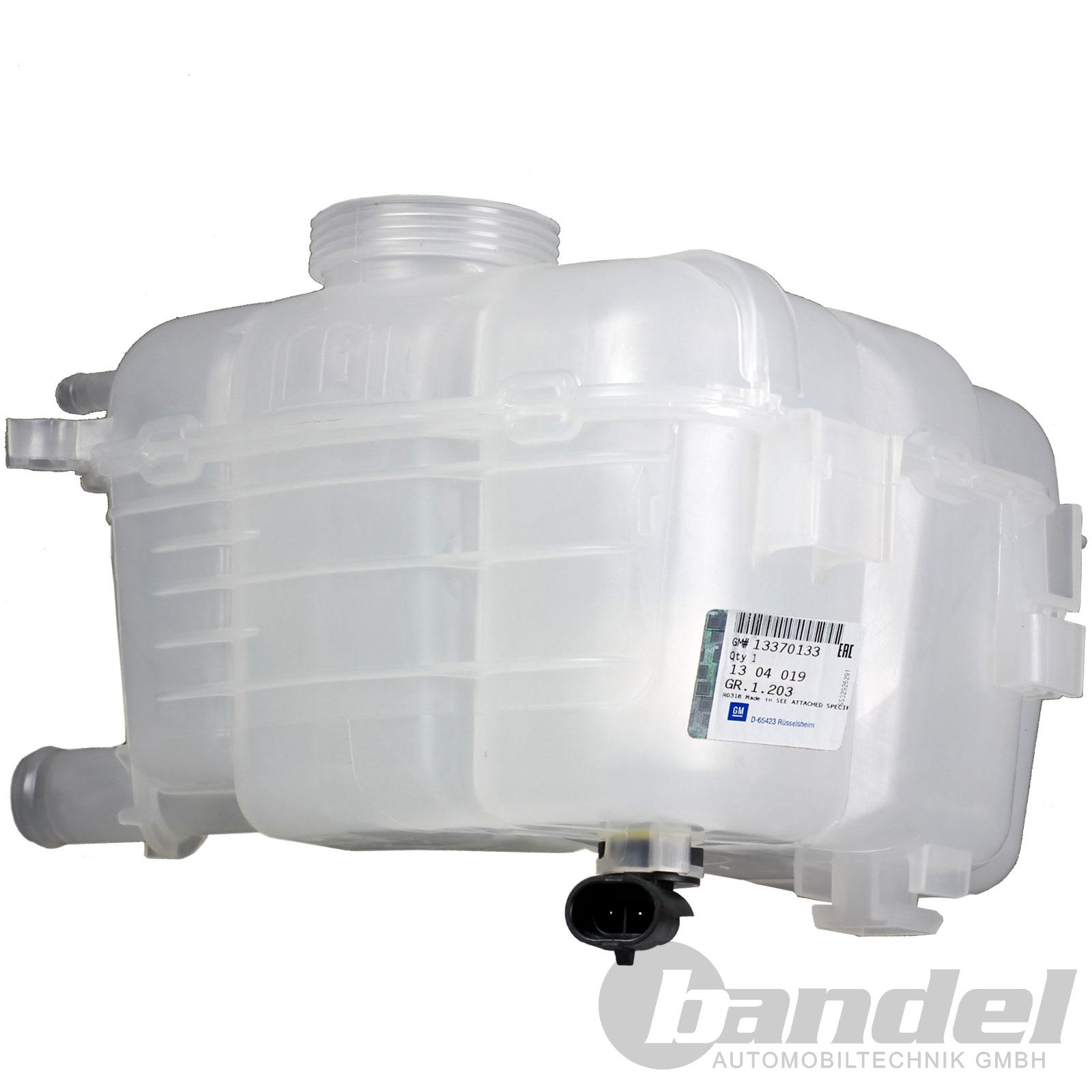Deckel ASTRA H J CASCADA ORIGINAL Opel Ausgleichsbehälter Kühlmittelbehälter