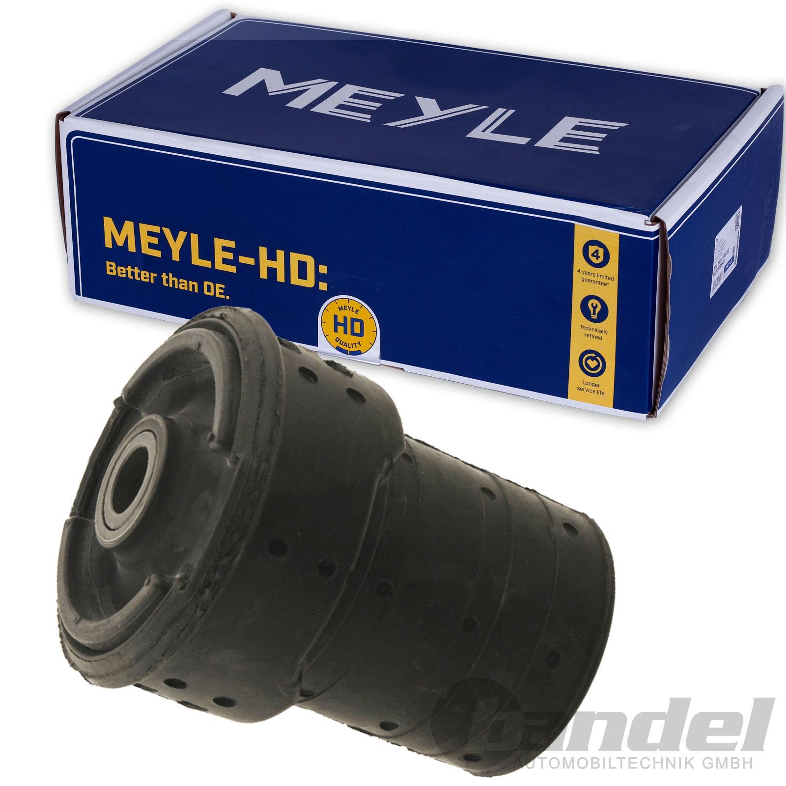 4x MEYLE 3003331111//HD Tonnenlager Buchse hinten verstärkt BMW 5er E39 Touring