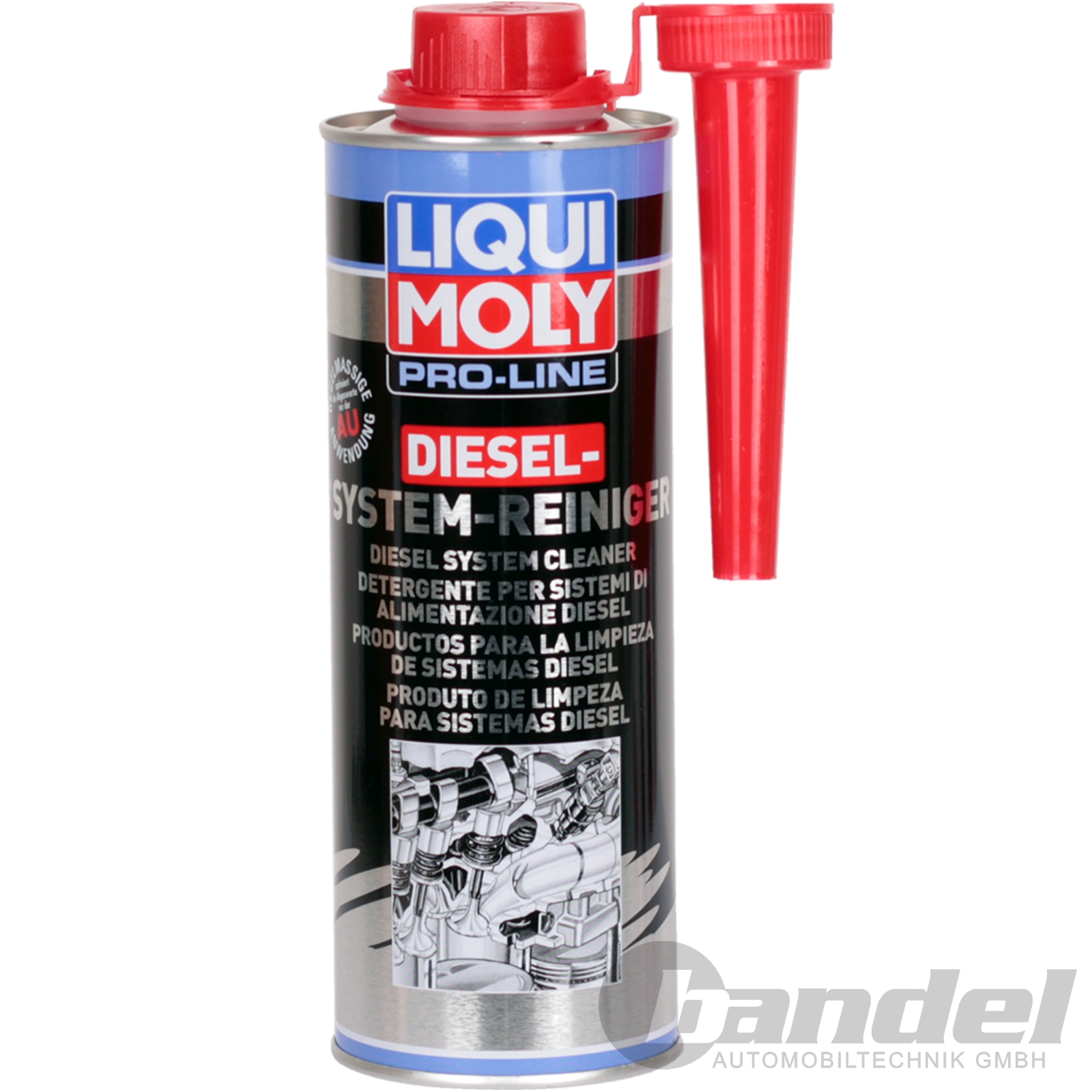2 98 100ml liqui moly 5156 pro line diesel system. Black Bedroom Furniture Sets. Home Design Ideas