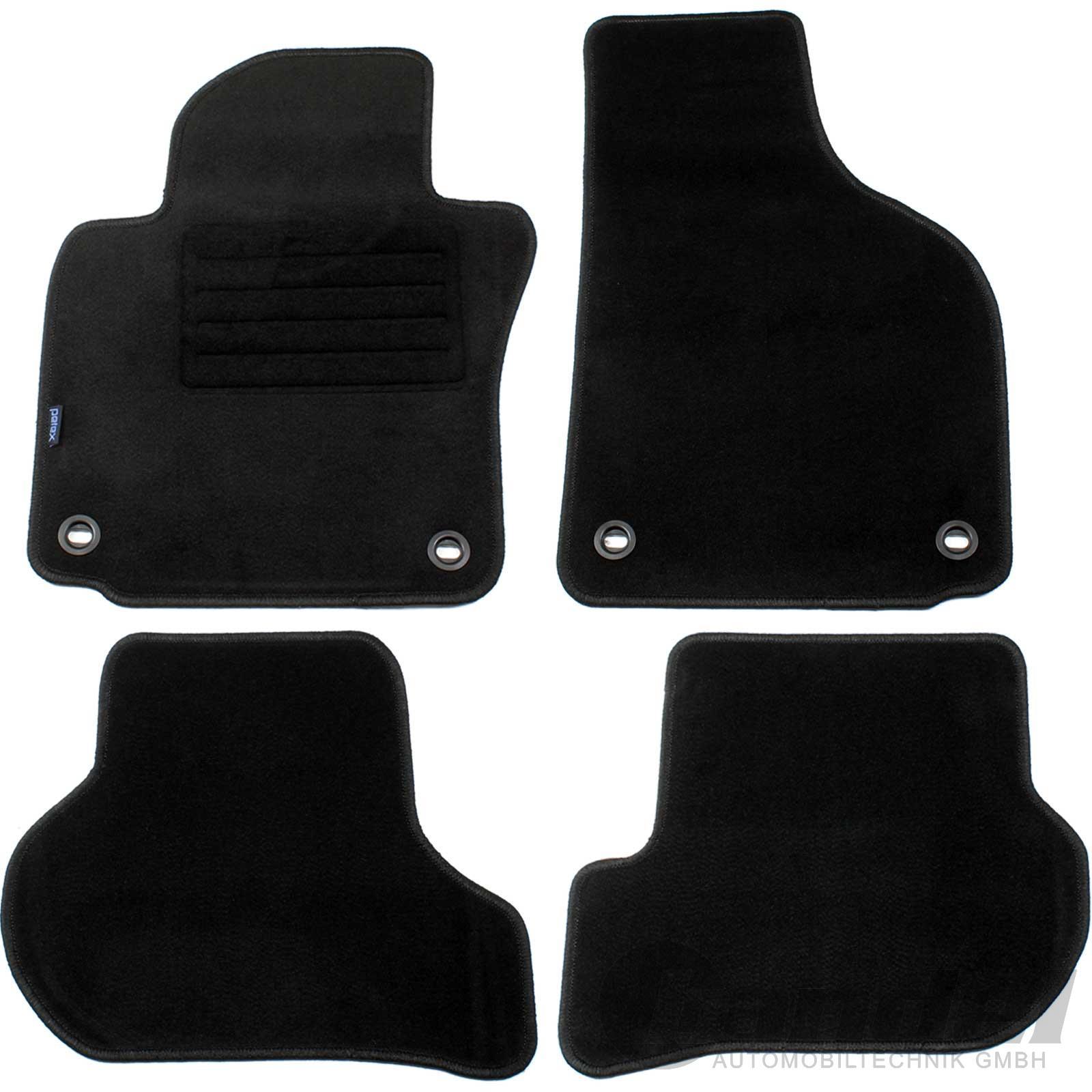 Velours Fußmatten Auto-matten Set passend für VW Jetta 5 V 2005-2010 1K2 VORN