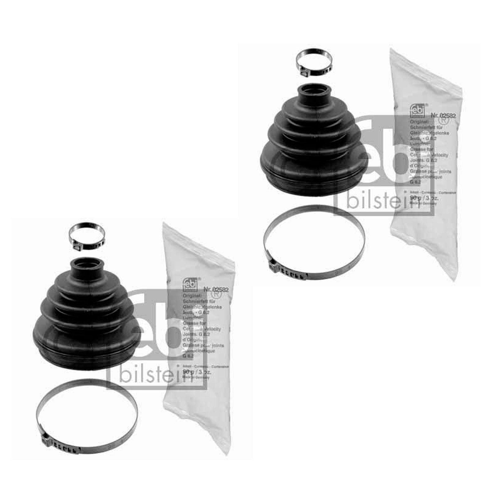 2x Achsmanschette Gelenkwelle vorn radseitig OPEL Calibra A 2.0i 16V