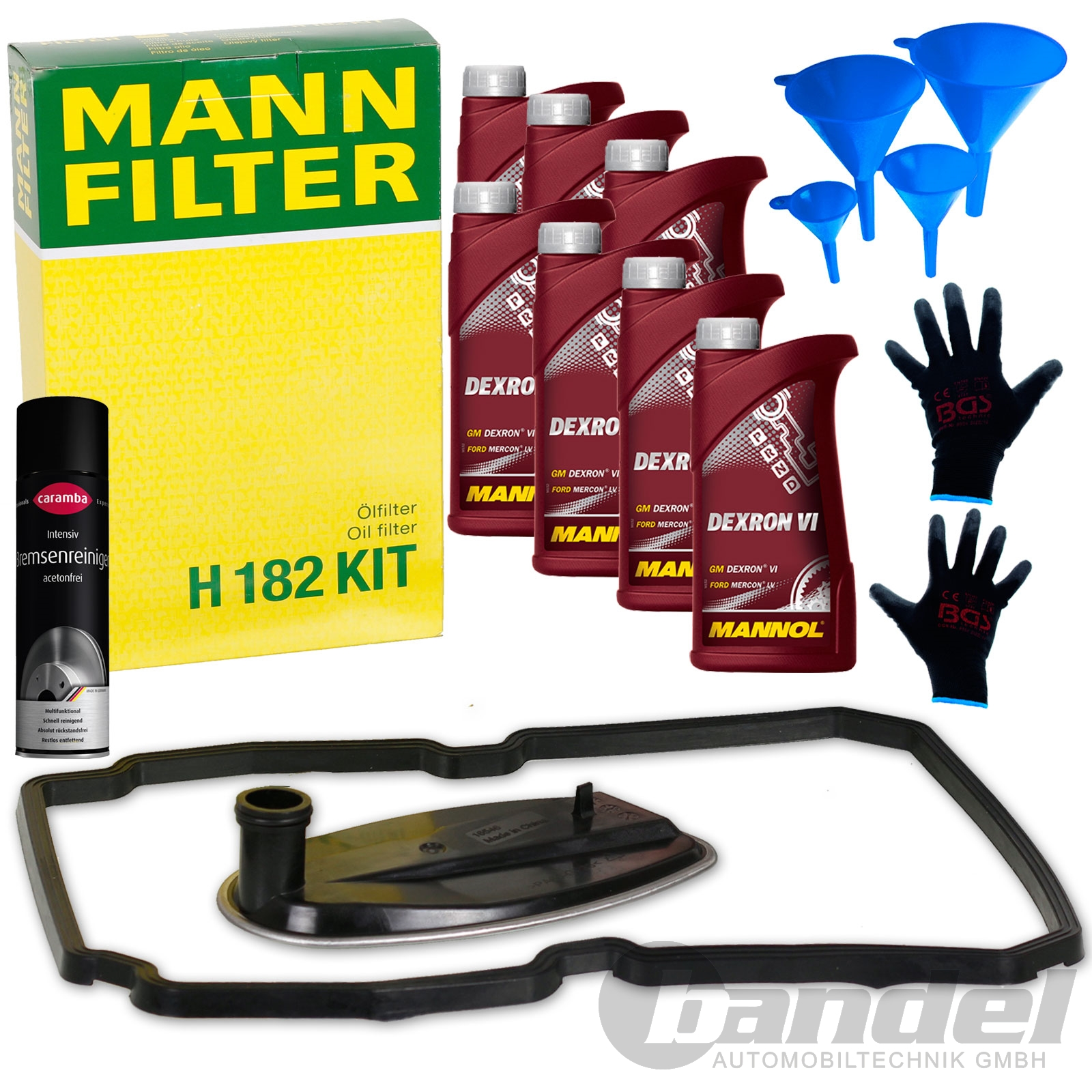 1x FEBI Ölfilter Automatikgetriebe Mercedes C E S Klasse CLC CLK