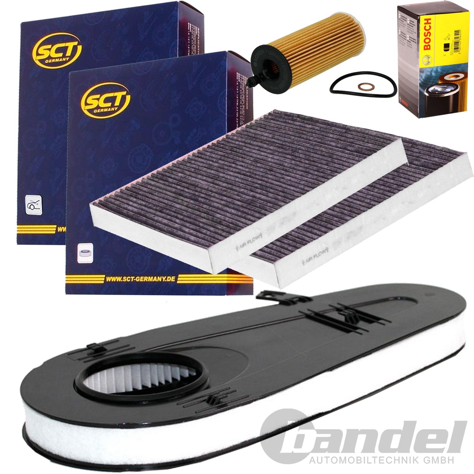Inspektionspaket Filter Set BMW 5 7 F10 F11 F07 530 535 730 740 d xDrive MANN