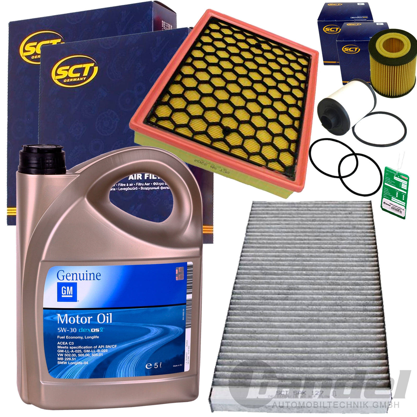 filter set inspektions satz paket 5l gm motor l 1 9 cdti. Black Bedroom Furniture Sets. Home Design Ideas