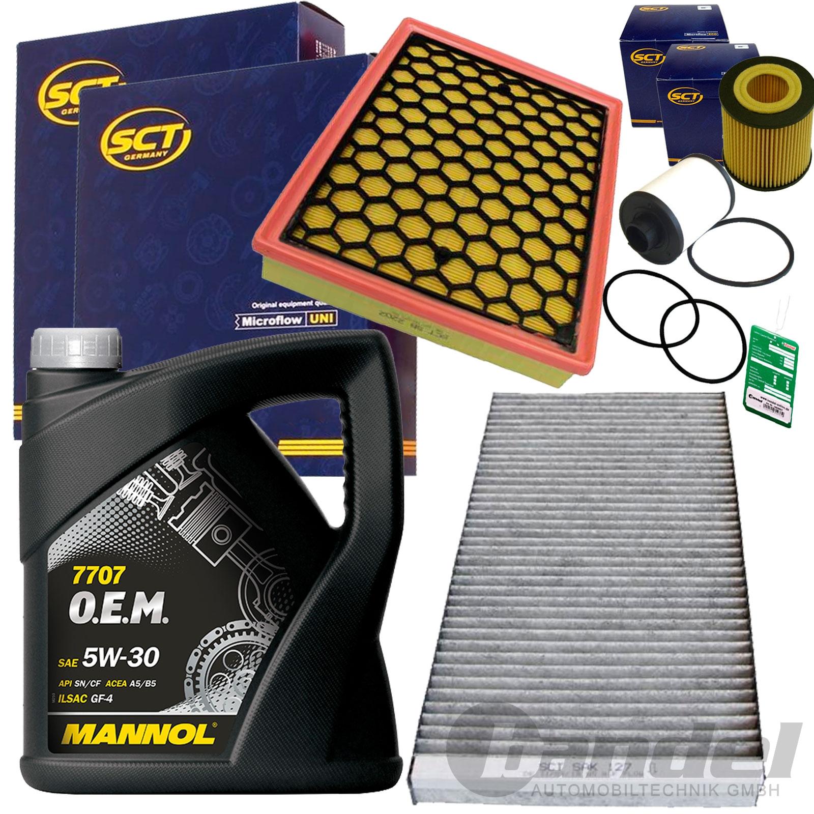 filter set inspektions paket 5l mannol motor l 1 9cdti. Black Bedroom Furniture Sets. Home Design Ideas