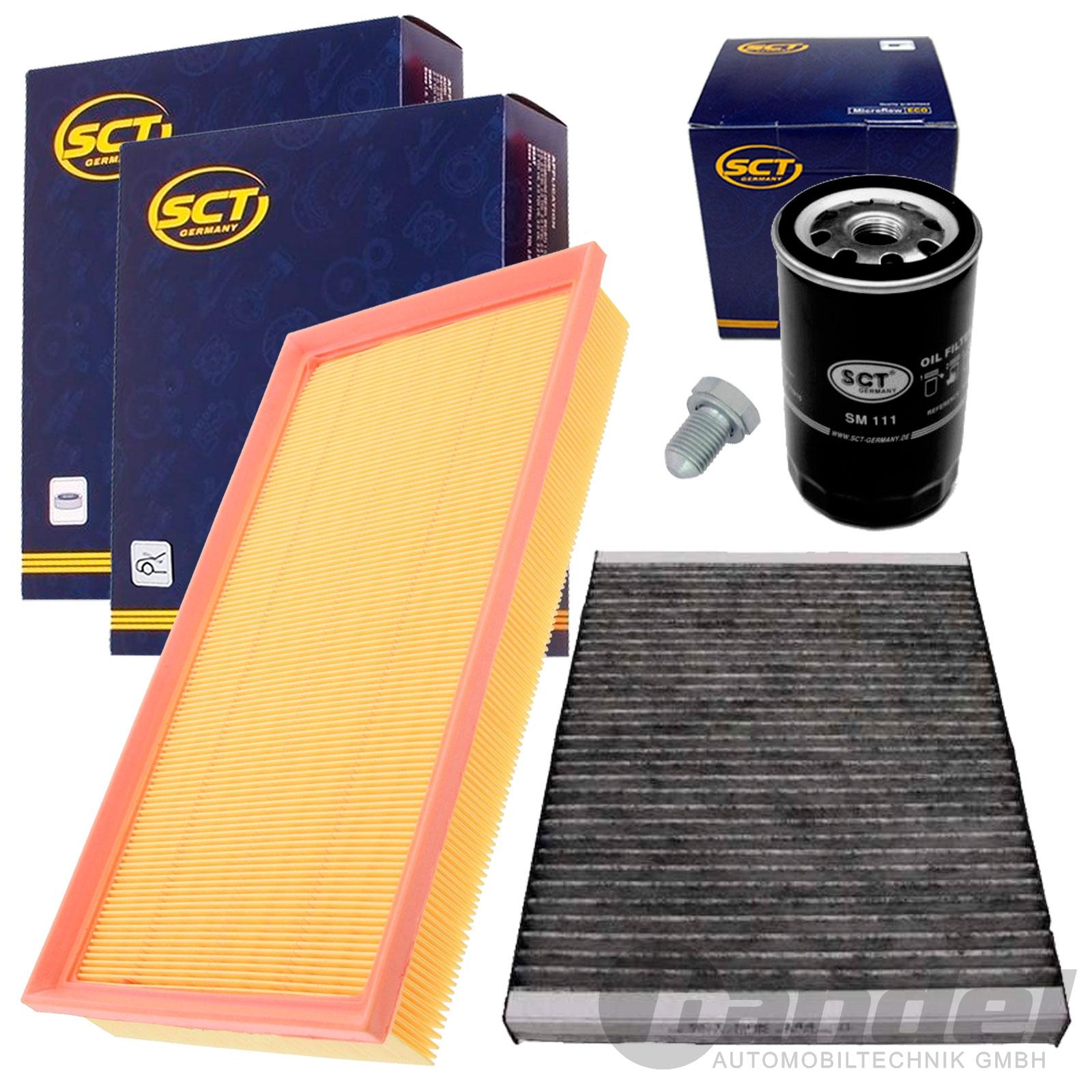 4 tlg inspektionspaket filterset 1 6 1 8 2 0 vw golf 4 bora 1j audi a3 8l tt ebay. Black Bedroom Furniture Sets. Home Design Ideas