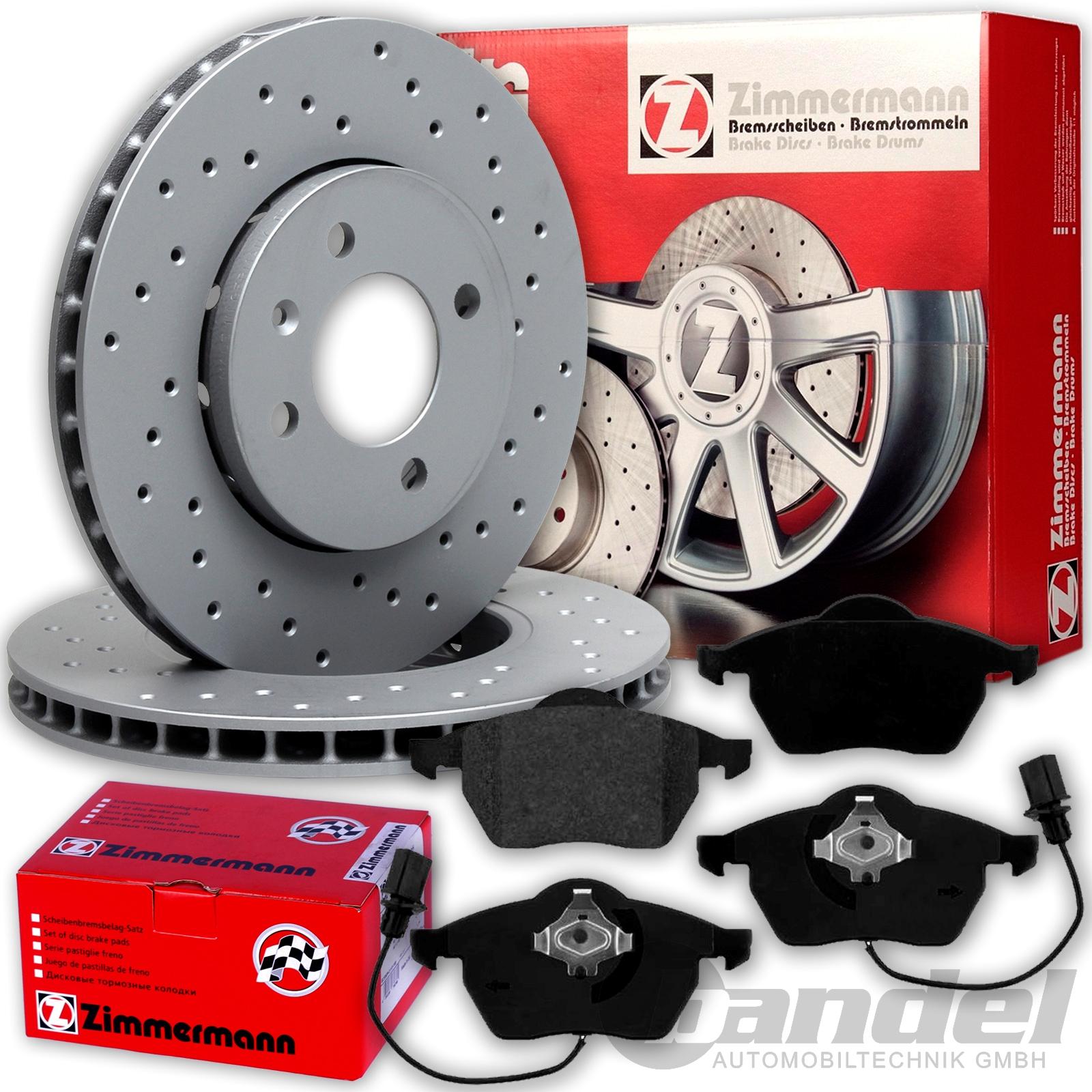 Bremsen vorn VW Passat 3BG 2.5 TDI 2.8 1LT 312mm Bremsscheiben Vorderachse