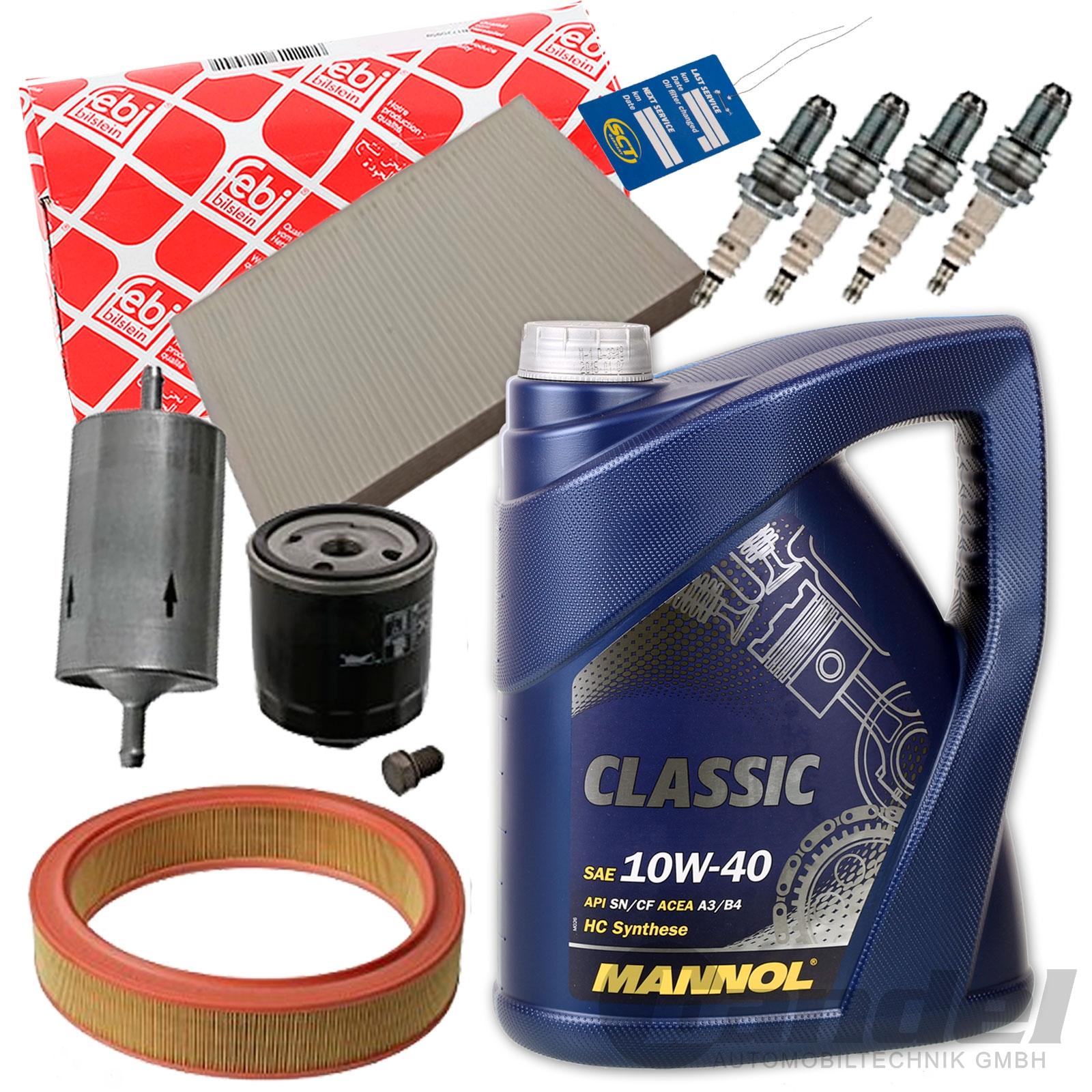 febi filter set inspektionspaket 10w40 motor l 1 4 1 6 vw. Black Bedroom Furniture Sets. Home Design Ideas