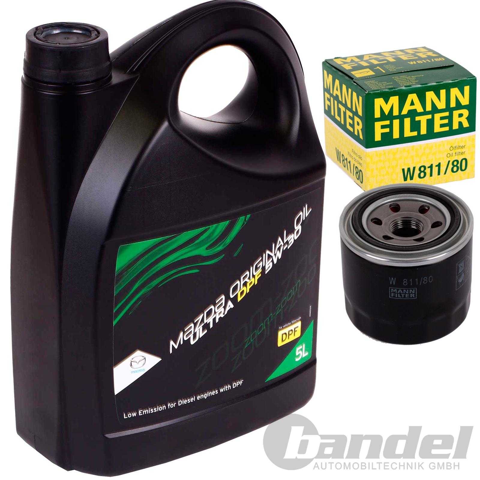 original mazda motorÖl Öl+Ölfilter mazda 3 323 5 6 626 premacy