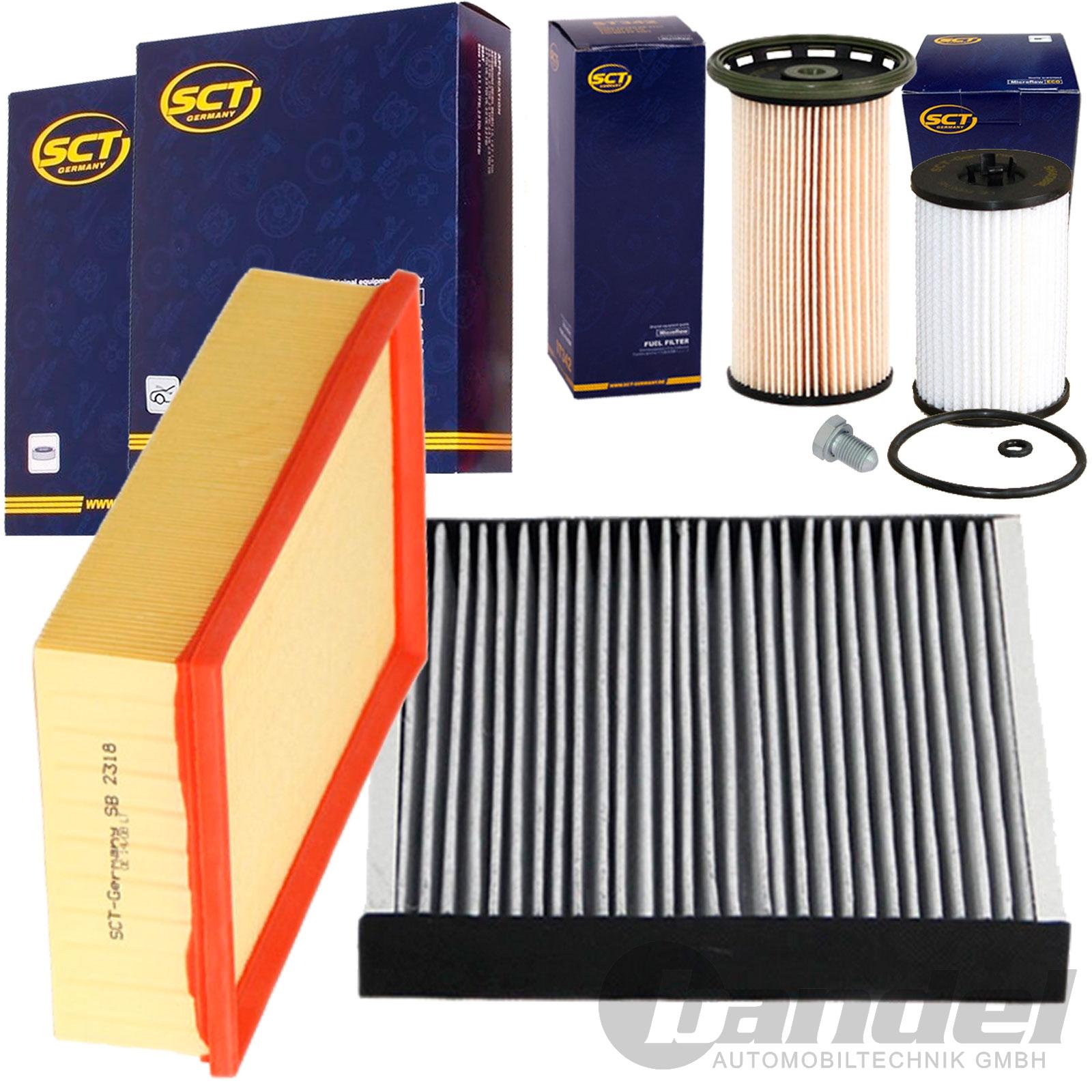 inspektionspaket filterset 1 6 2 0 tdi vw golf 7 audi a3. Black Bedroom Furniture Sets. Home Design Ideas