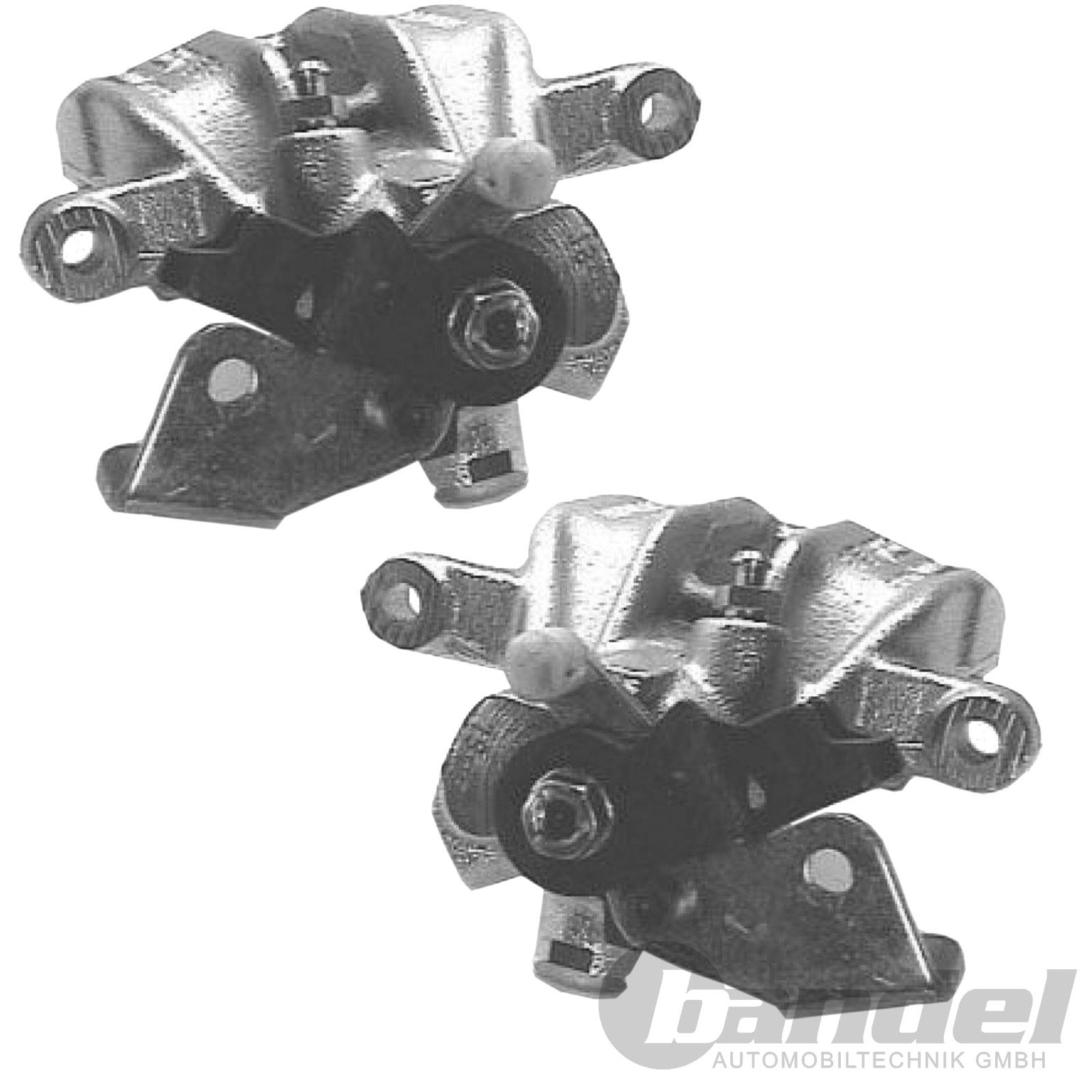 2x Bremsschlauch für Audi A6 C4 Hinten Hinterachse am Bremssattel