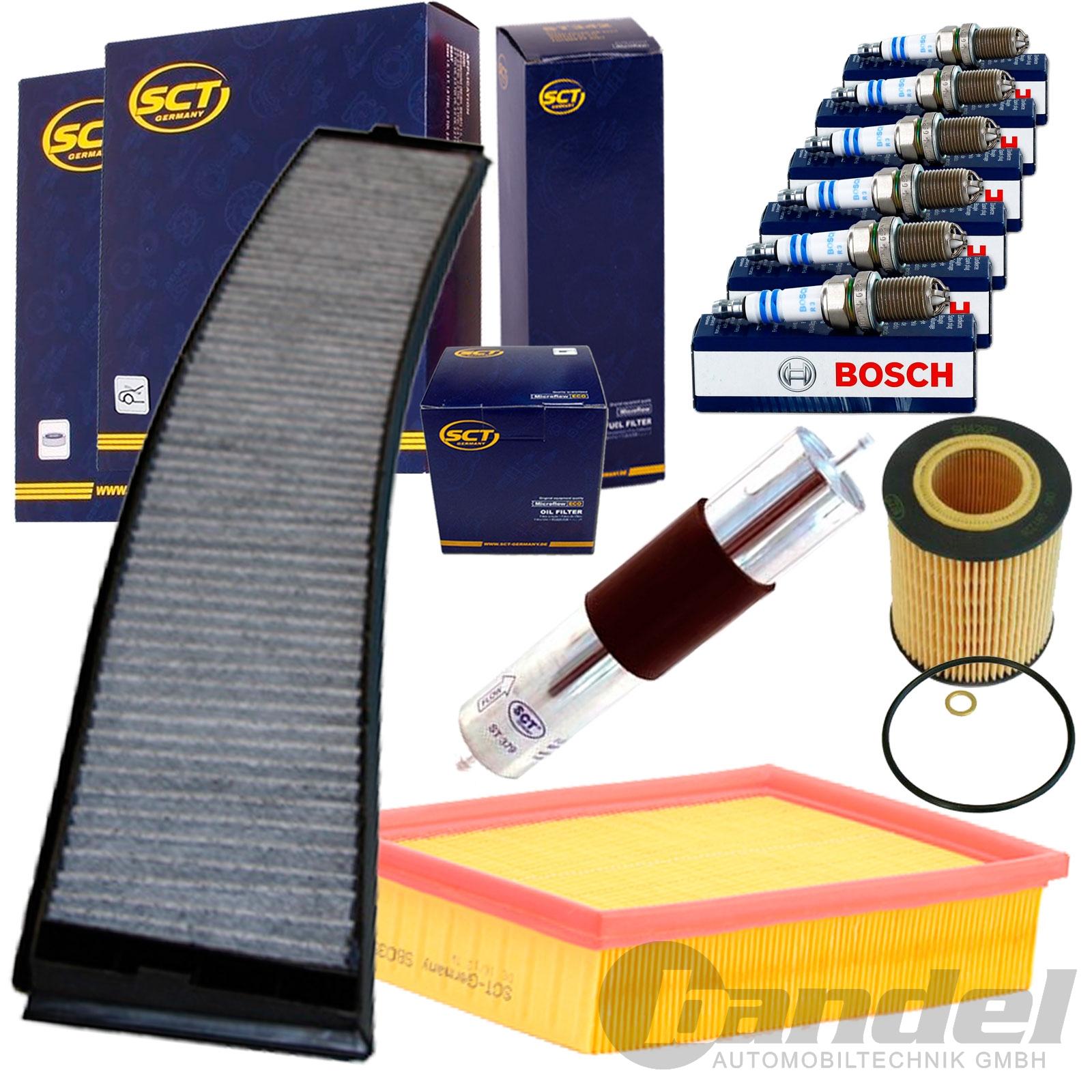 filter set inspektionskit z ndkerzen bmw 3er e46 320 323. Black Bedroom Furniture Sets. Home Design Ideas
