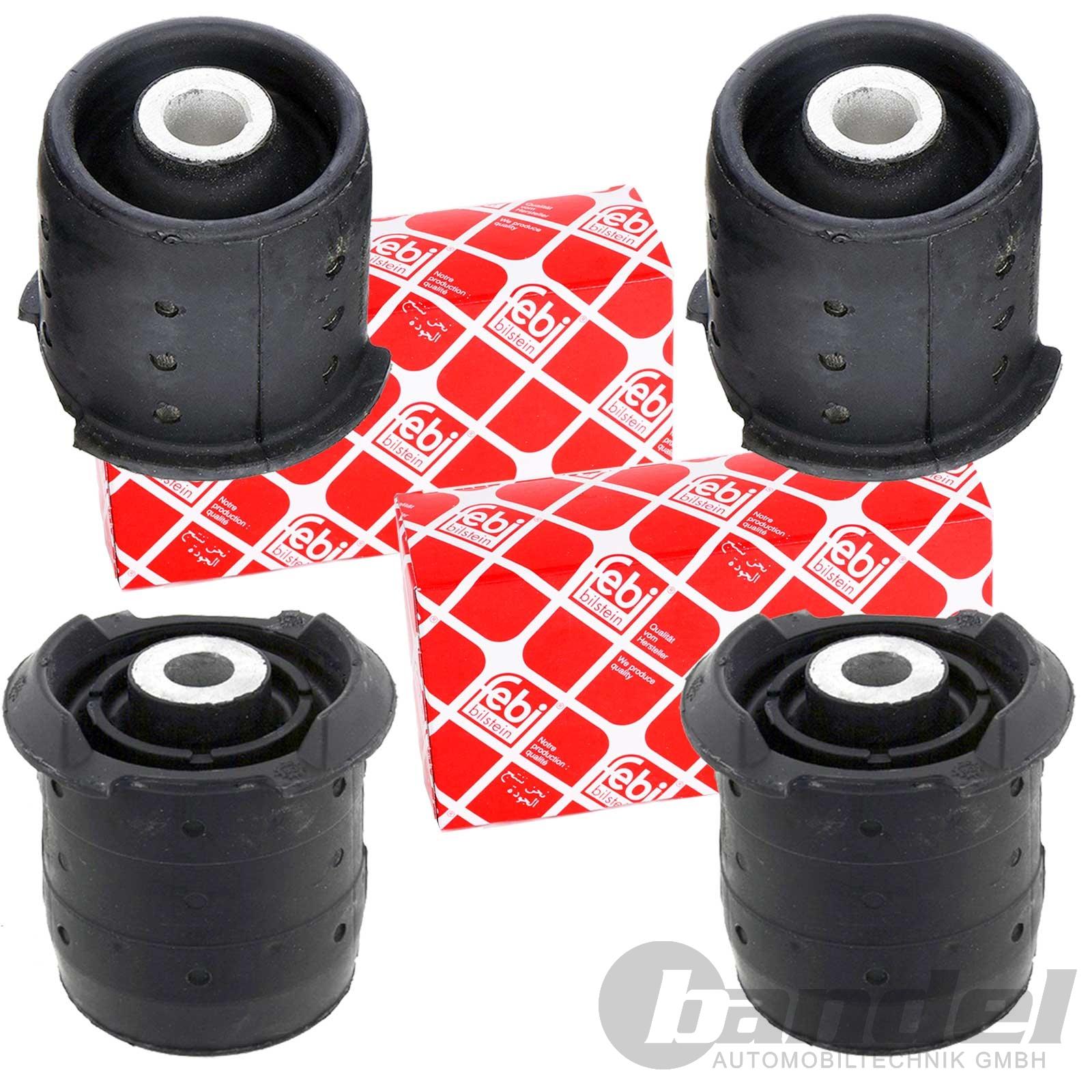 4x Bremsschlauch Bremsschläuche vorne hinten links rechts Set Satz Bmw E30