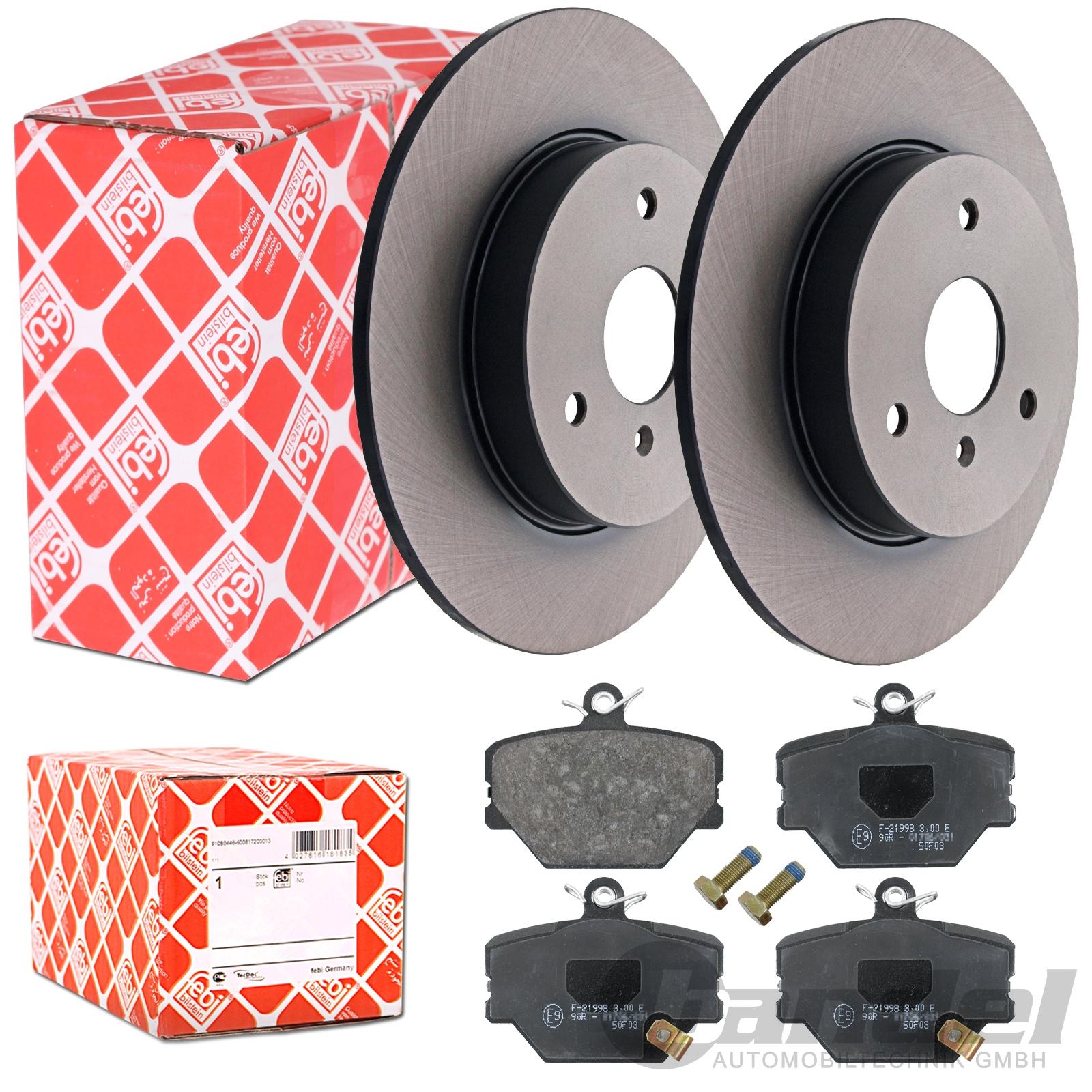 febi bremsscheiben bremsbel ge vorne alle smart i 450 ii. Black Bedroom Furniture Sets. Home Design Ideas
