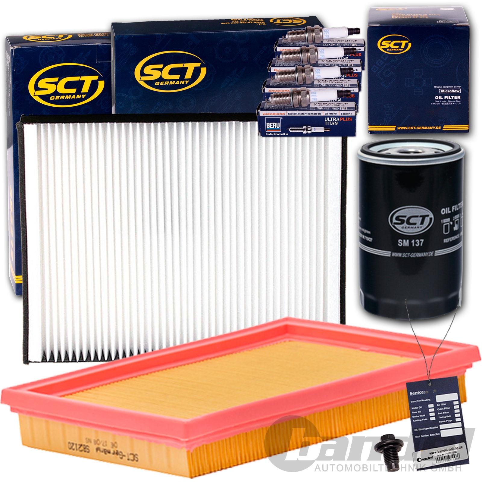 filterset inspektionskit filtersatz beru z ndkerzen 1 3 1. Black Bedroom Furniture Sets. Home Design Ideas