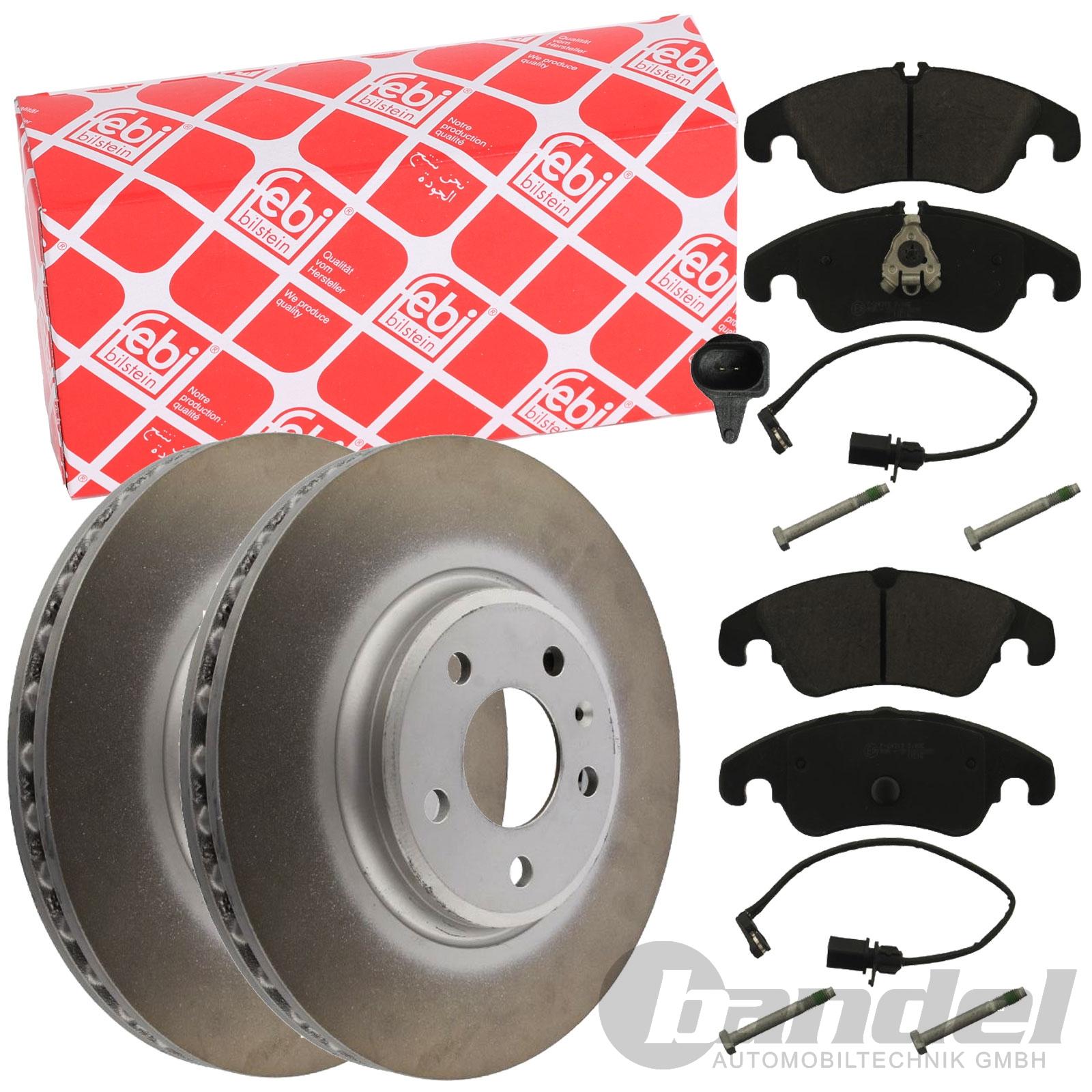 Bremsbeläge vorne Audi A4 A5 Q5 2 Febi Bremsscheiben
