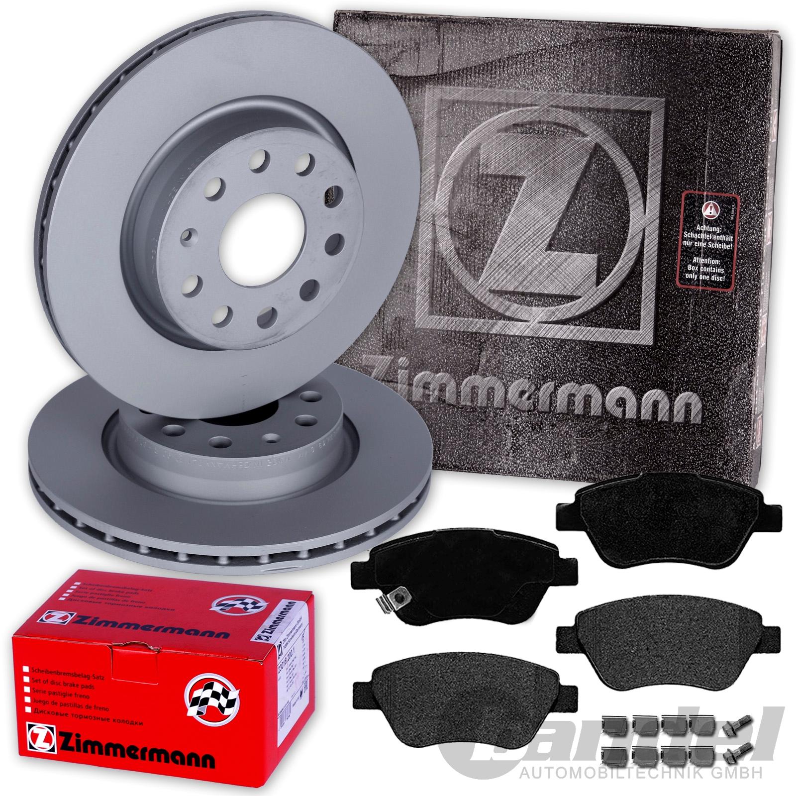 zimmermann bremsscheiben 257mm bel ftet bel ge vorne. Black Bedroom Furniture Sets. Home Design Ideas