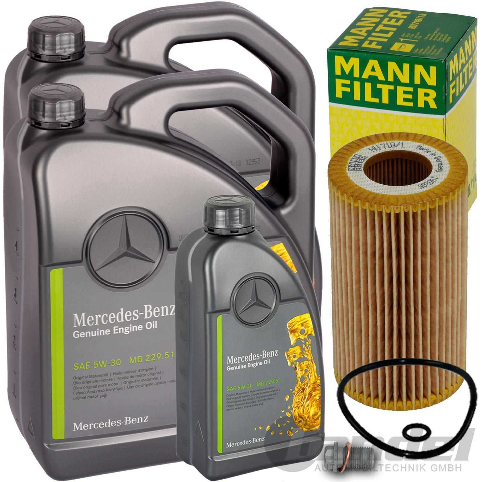Ölfilter Mercedes Sprinter 3-t 308 311 313 316 CDI Öl Filter 903