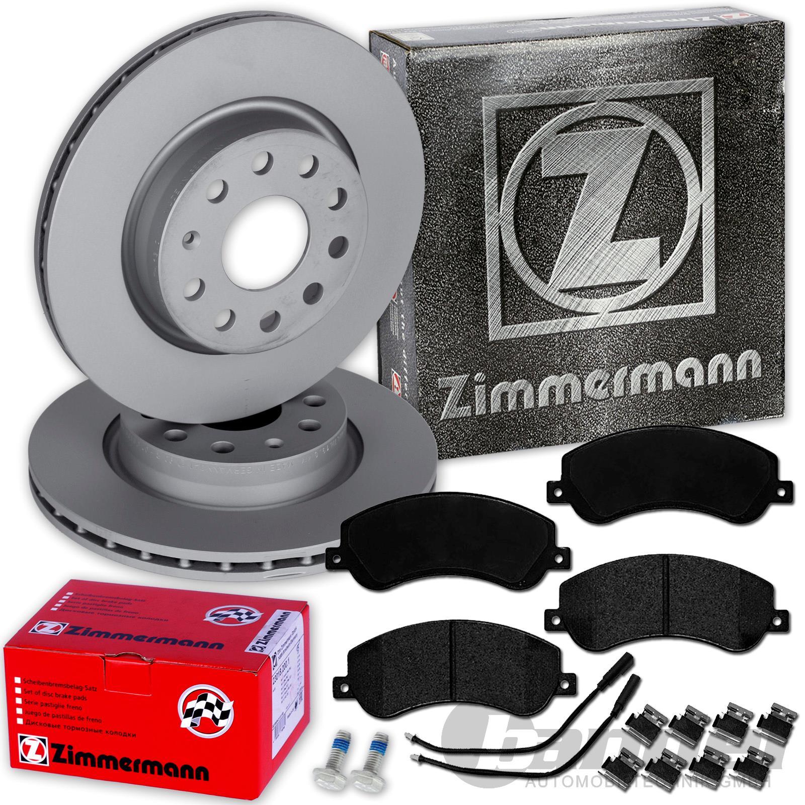 4motion Bremsbeläge vorne VW Amarok 2H S1B 2,0 TDI Zimmermann Bremsscheiben