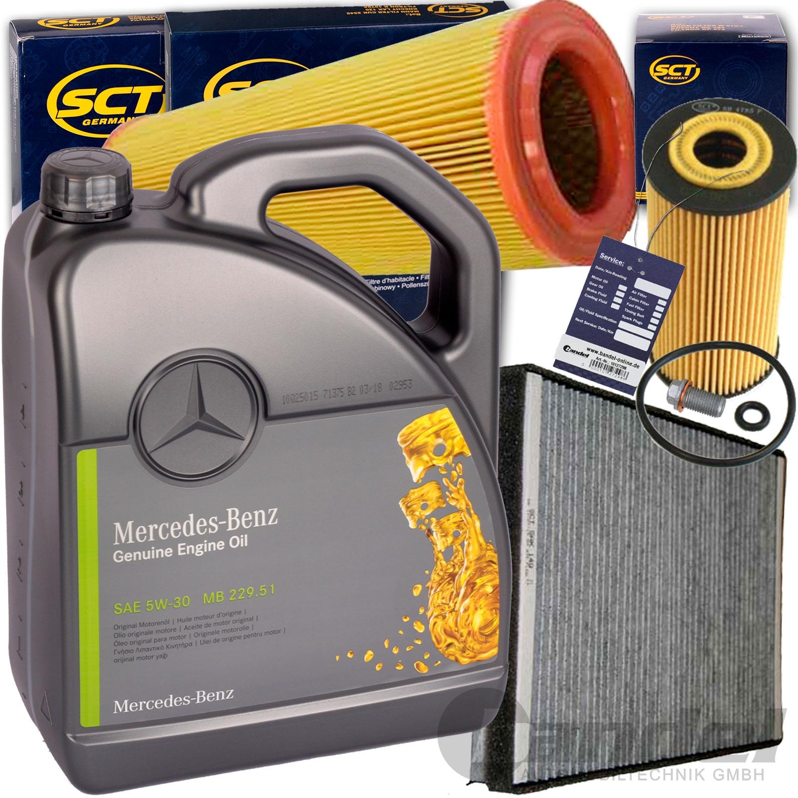 MANN-FILTER PAKET Luftfilter Innenraumfilter Mercedes-Benz A-Klasse W168 A 170