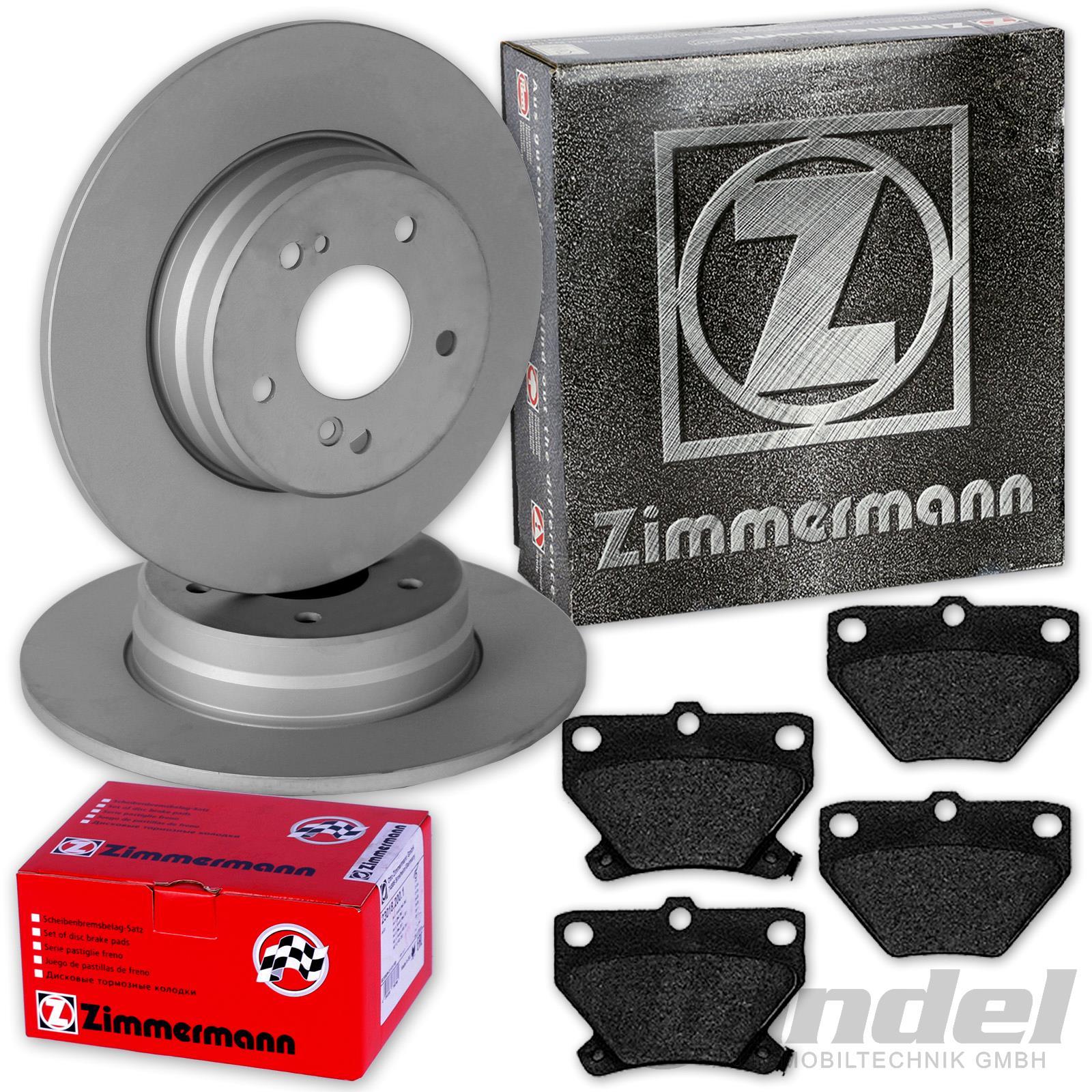 für Toyota Brembo2 Bremsscheiben Voll 269 mm Bremsbeläge Hinten u.a