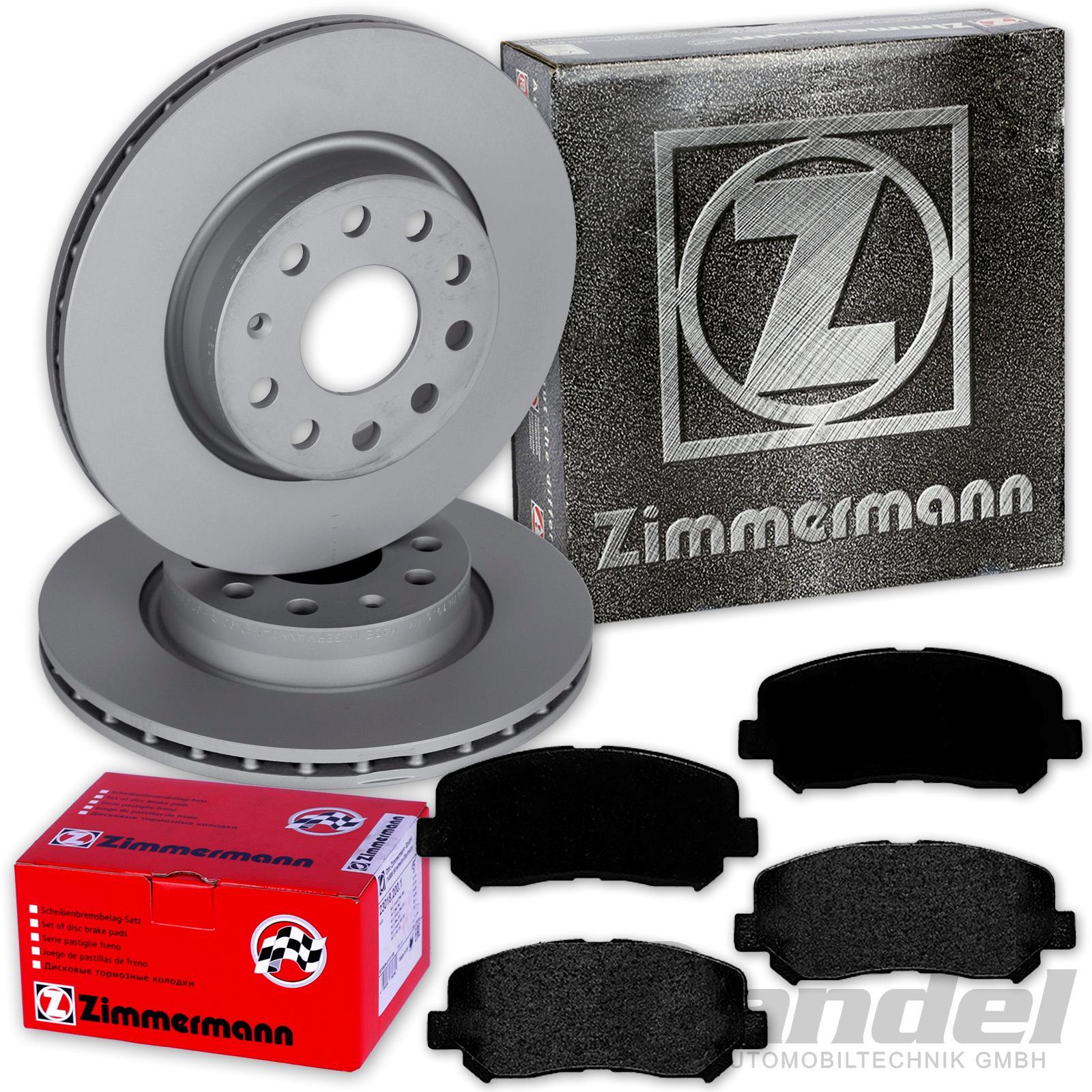 Zimmermann Bremsscheiben Beläge Hinten MAZDA CX-5 KE GH